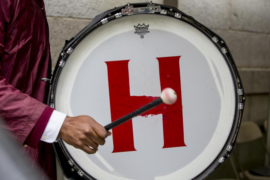 A drum with the Harvard