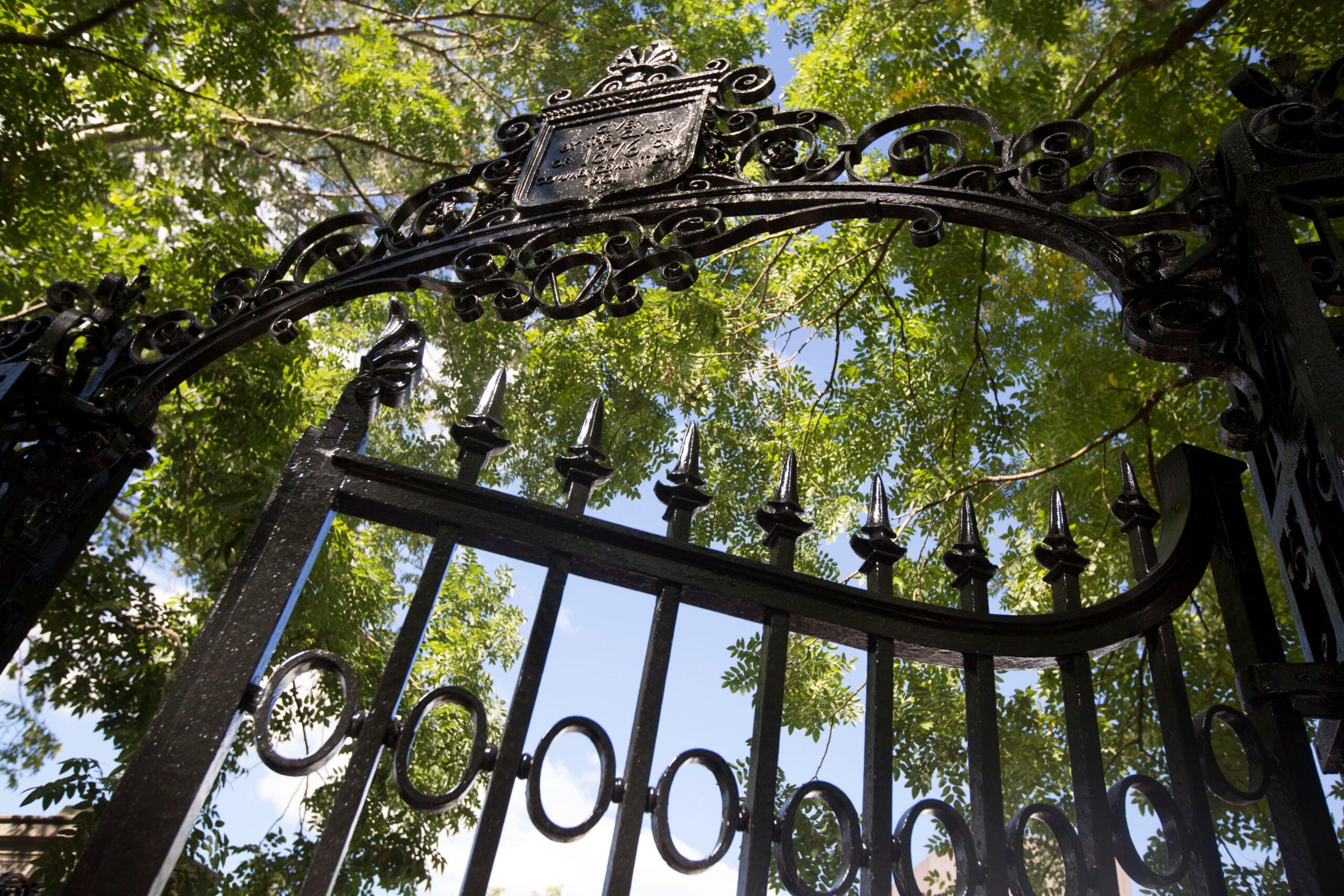 A metal gate