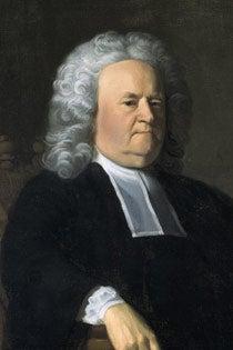A portrait of President Holyoke.