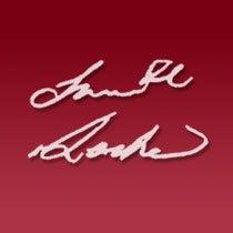 President Locke's signature