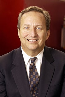 Larry Summers Smiling