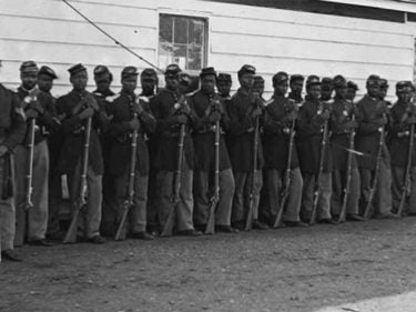 African American soldiers from the civil war