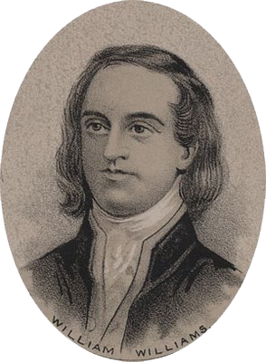 A black and white portrait of a man