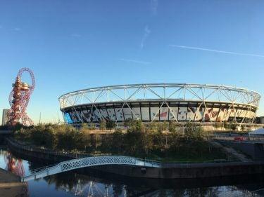 An olympics stadium